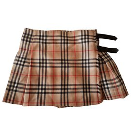 Burberry-Skirts-Black,Red,Multiple colors,Beige