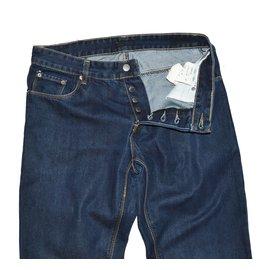 Prada-Pantalons homme-Bleu