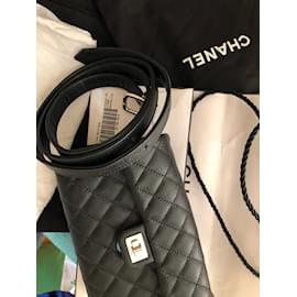 Chanel-Waist Belt bag-Black