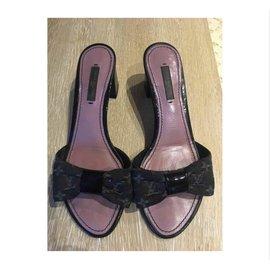 Louis Vuitton-Mules-Gris anthracite