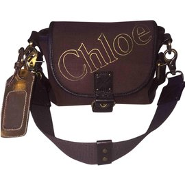 Chloé-Chloe bum bag-Brown