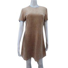 Burberry-Dresses-Caramel