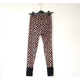 Louis Vuitton-Pantalons-Multicolore