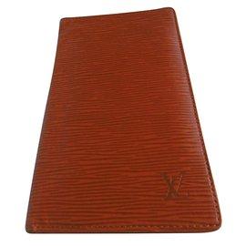 Louis Vuitton-Long Bifold Wallet-Brown