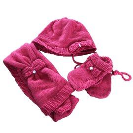 Tartine et Chocolat-Chapeaux, bonnets, gants-Bordeaux