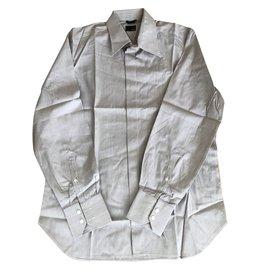 Fendi-Chemises-Gris