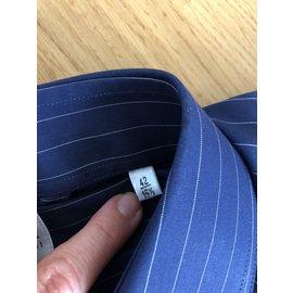 Armani-Chemises-Bleu