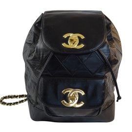 Chanel-Sac a Dos Chanel-Noir