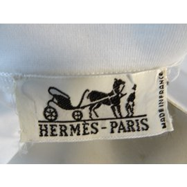 Hermès-Tee  shirt Hermès-Blanc