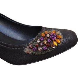 Prada-Heels-Dark brown