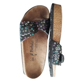 Birkenstock-Kids Sandals-Black