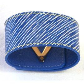 Louis Vuitton-Bracelets-Bleu