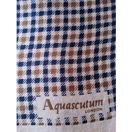 Aquascutum-Echarpes homme-Multicolore