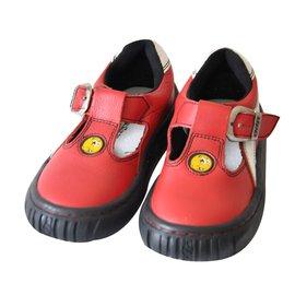 Autre Marque-Kids Sandals-Red