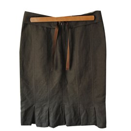 Hugo Boss-Skirts-Khaki