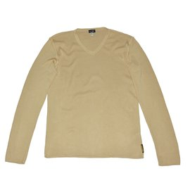 Armani Jeans-Sweaters-Brown