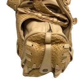 Chloé-Handbags-Beige