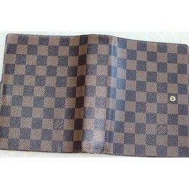 Louis Vuitton-louis vuitton MM agenda-Marron