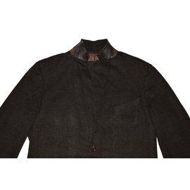 Ermenegildo Zegna-Blazers Jackets-Brown
