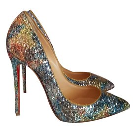Christian Louboutin-Escarpins-Multicolore