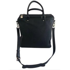 Louis Vuitton-Taschen Aktentaschen-Marineblau