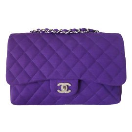 Chanel-Handbags-Purple