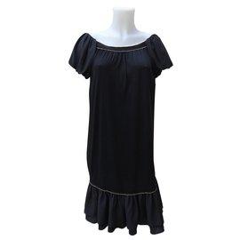 Fendi-Dresses-Black