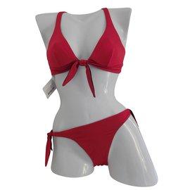 La Perla-Maillot de bain rouge et noir - 2 pièces la perla - 38-Rouge