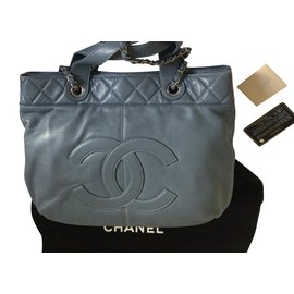 Chanel-Chanel Grand Tote-Bleu