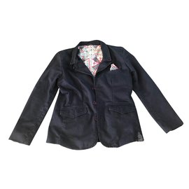 Guess-Junge Mäntel Oberbekleidung-Marineblau
