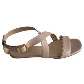 Chloé-sandals-Pink