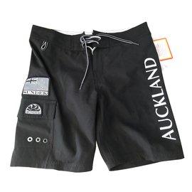 Autre Marque-Boy Shorts-Black,White