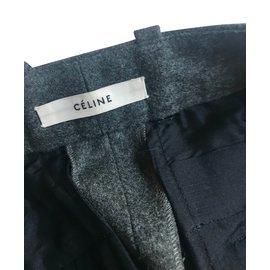 Céline-Pants, leggings-Grey