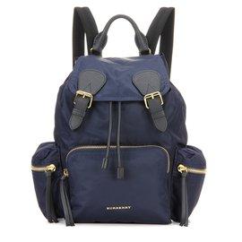 Burberry-Backpacks-Blue
