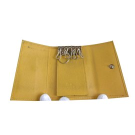 Gucci-Key Holder Wallet-Yellow