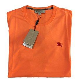 Burberry-Tee shirts-Orange