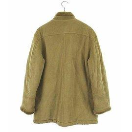 Autre Marque-Kansai yamamoto homme faux shearling coat-Beige