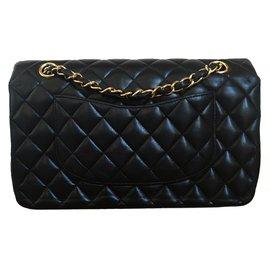 Chanel-Double Flap-Black