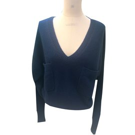 Chloé-Knitwear-Navy blue