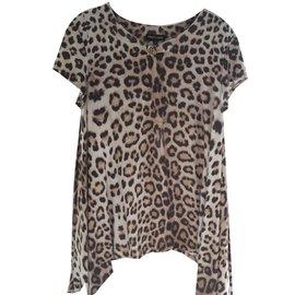 Roberto Cavalli-Les ensembles fille-Imprimé léopard
