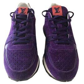 Louis Vuitton-Baskets-Blanc,Violet