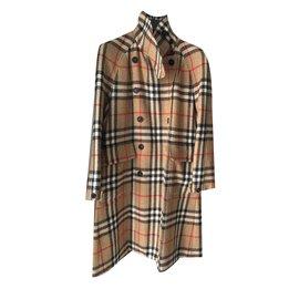 Burberry-Coats, Outerwear-Caramel