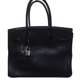 Hermès-Birkin 30-Noir