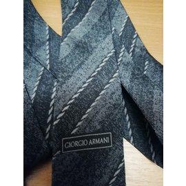 Giorgio Armani-Krawatten-Grau
