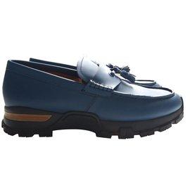 Ermenegildo Zegna-Loafers Slip ons-Blue