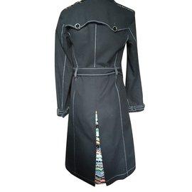 Christian Lacroix-Trench coats-Black