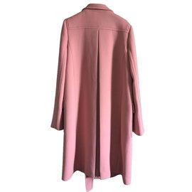 Bottega Veneta-Coat-Pink