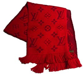 Louis Vuitton-Foulards-Rouge