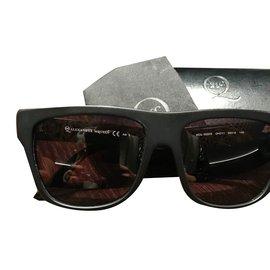 Alexander Mcqueen-Sunglasses-Black