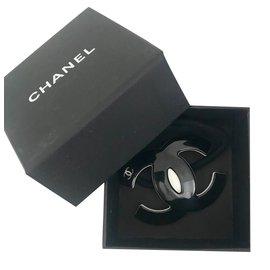 Chanel-Élastique cheveux Chanel-Noir